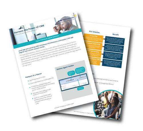 Contact Canvas for Oracle Service Cloud Datasheet | AMC